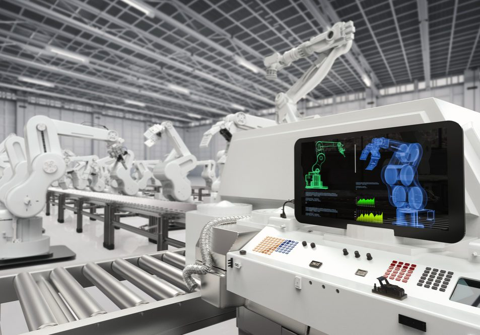 Manufacturing automated with 3D printing and robotics